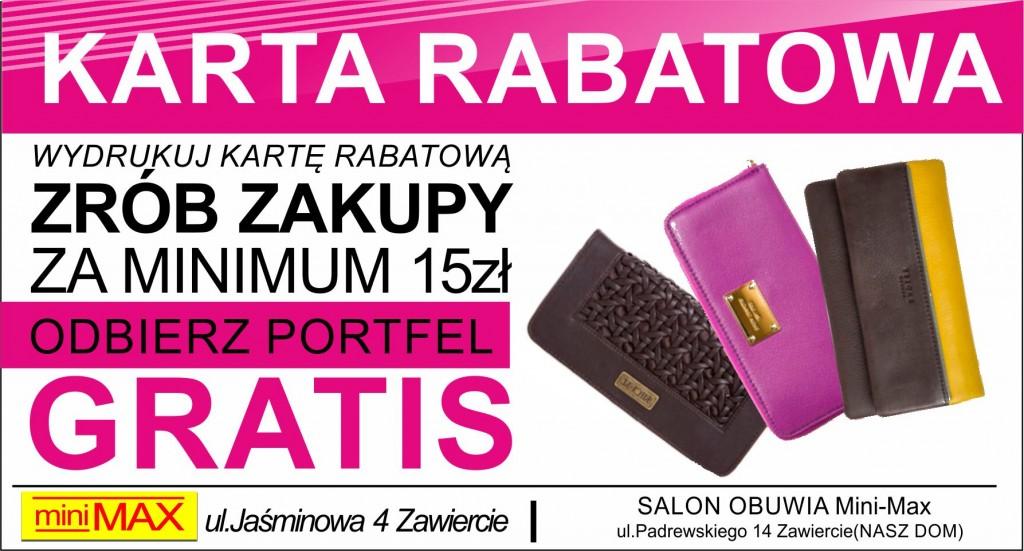 KARTA  RABATOWa
