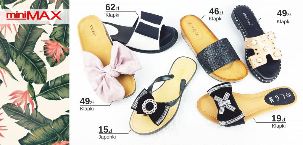 Mini Max obuwie propozyje KLAPKI